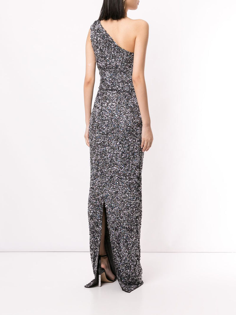 REED GOWN - GUNMETAL-GOWN-Rachel Gilbert