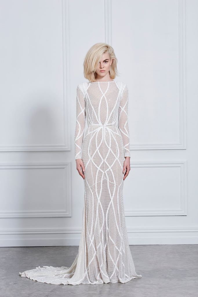 ISABEL GOWN - IVORY