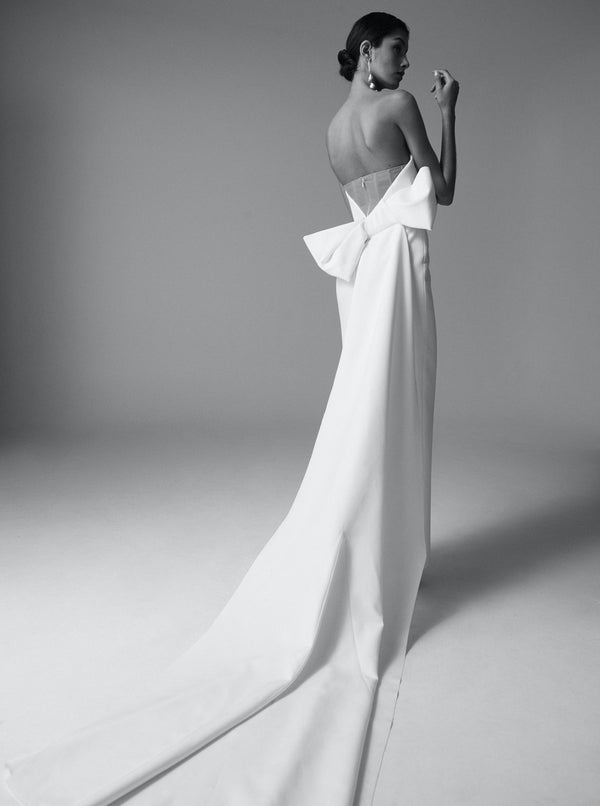 ANNISTON GOWN - IVORY