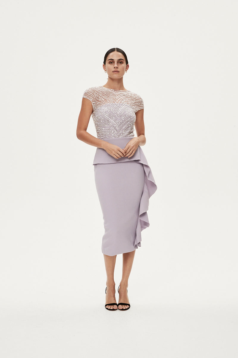 GINGETTE DRESS - LILAC