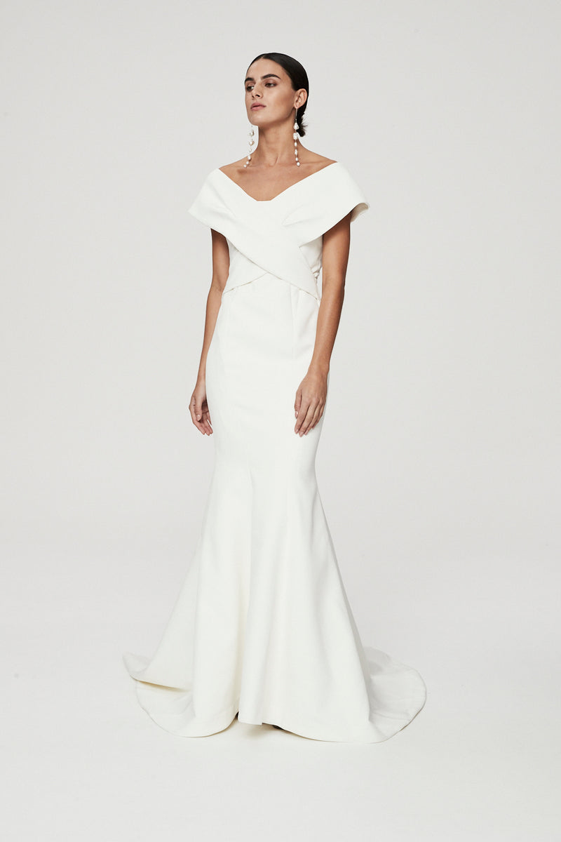 CAILYN GOWN - IVORY-GOWN-Rachel Gilbert