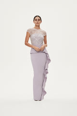 GINGETTE GOWN - LILAC