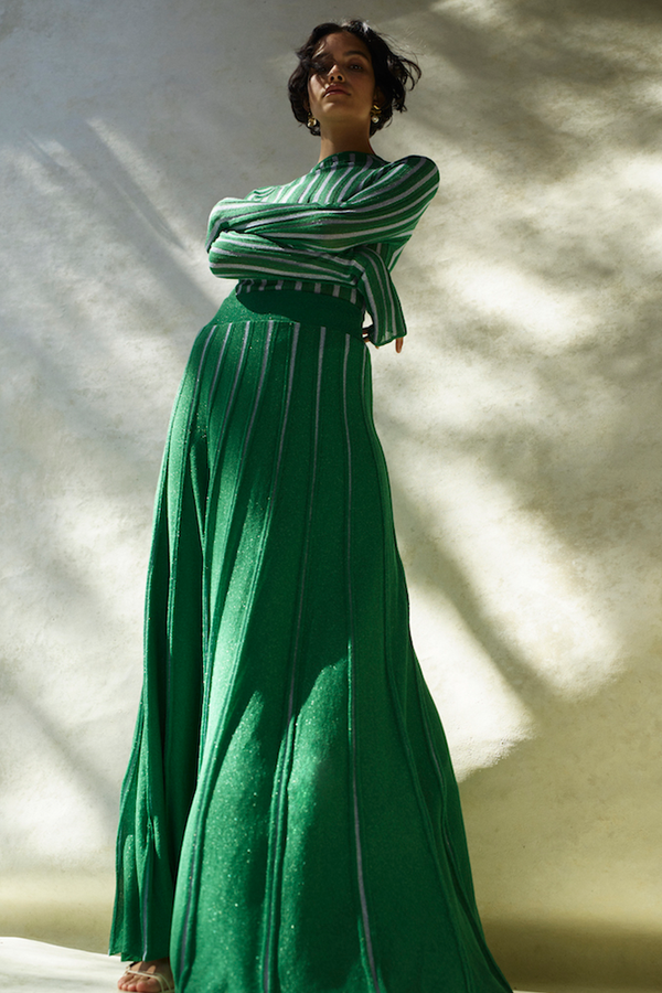 JULIAN SKIRT - GREEN