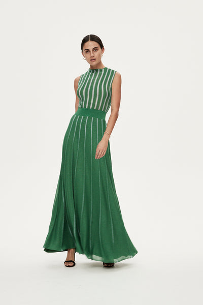 JULIAN DRESS - GREEN