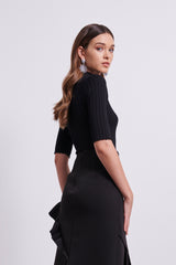 LANI TOP - BLACK