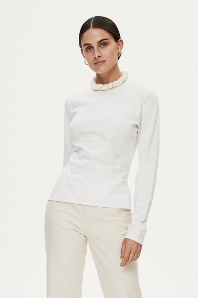 LEE LONG SLEEVE TEE - IVORY