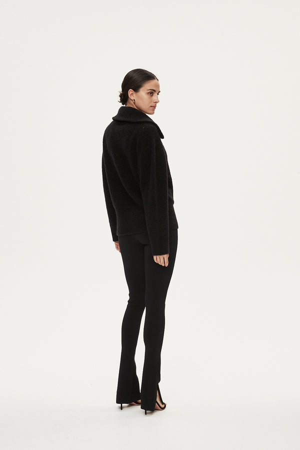 LOUIS JUMPER - BLACK