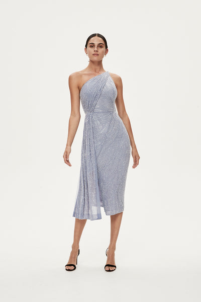 LUCA DRESS - DUCK EGG BLUE