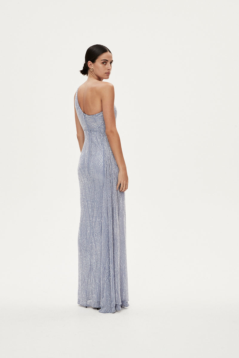 LUCA GOWN - DUCK EGG BLUE