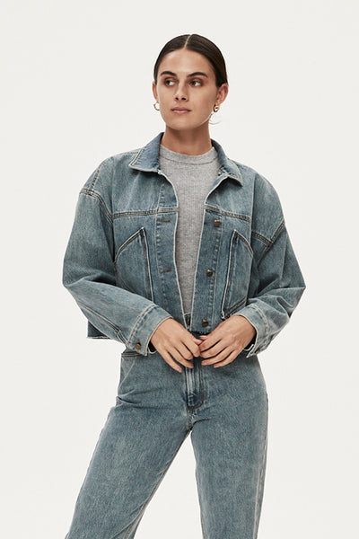 LUCAS JACKET - LIGHT DENIM