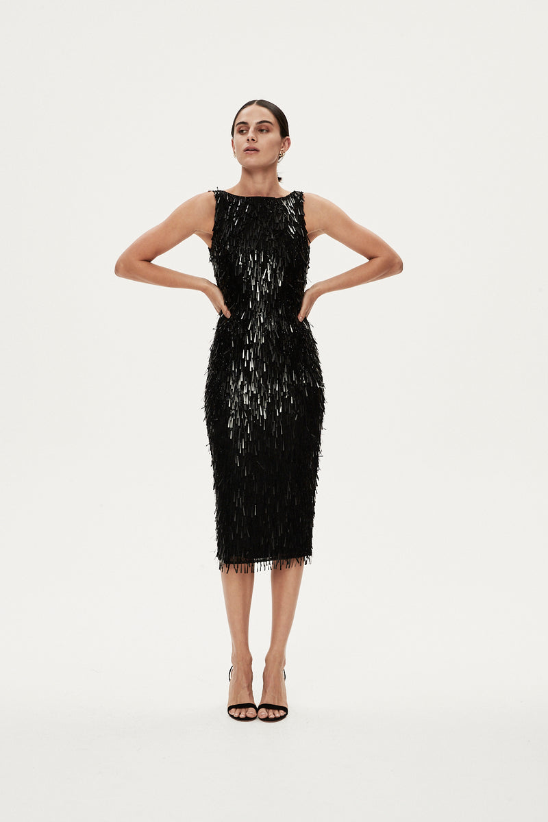OPUS DRESS - BLACK
