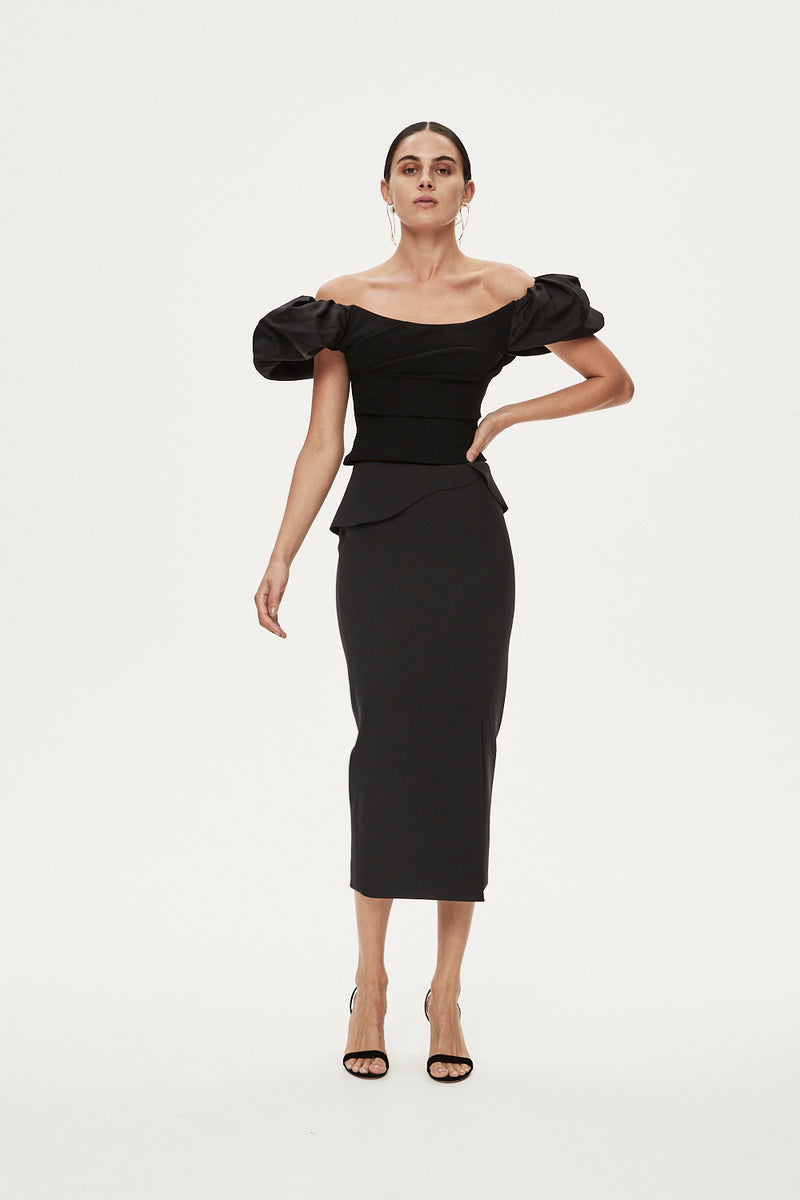 OSCAR TOP - BLACK