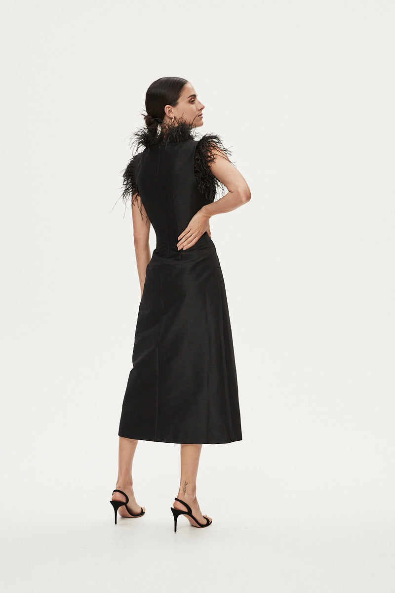 SOLOMON DRESS - BLACK