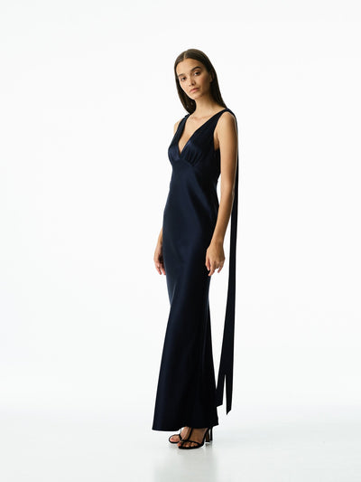 JULE GOWN - NAVY