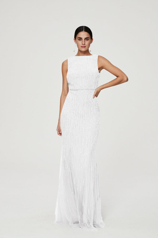 AVA GOWN - IVORY