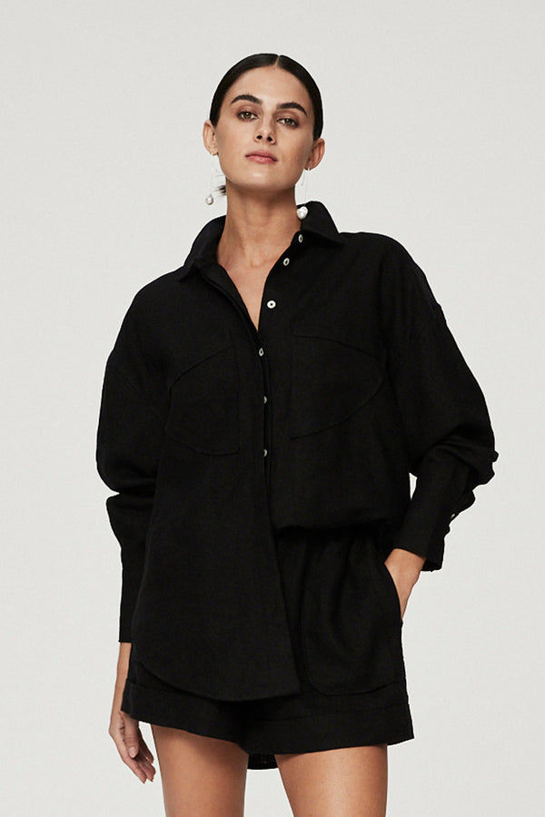 CAPRI SHIRT - BLACK