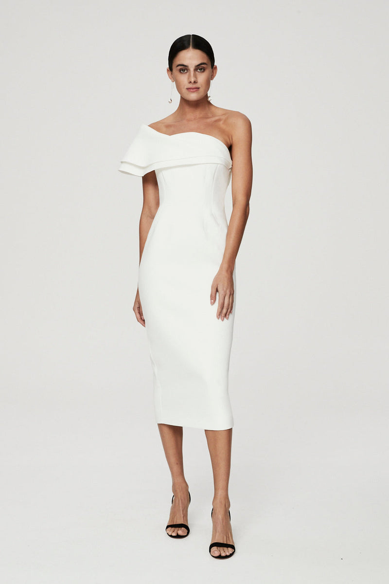 DREW DRESS - IVORY-DRESS-Rachel Gilbert ?id=16247361142819