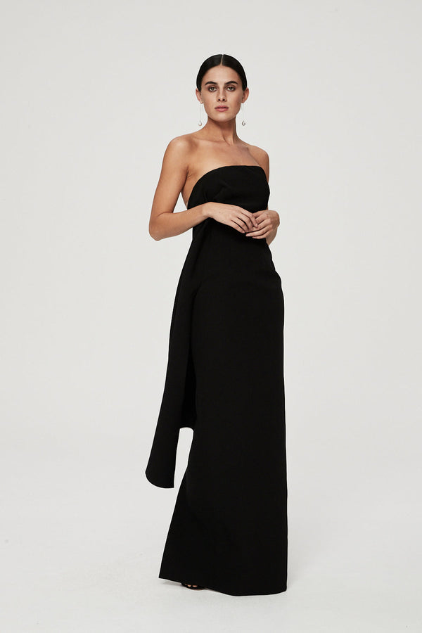 ELLINGTON GOWN - BLACK