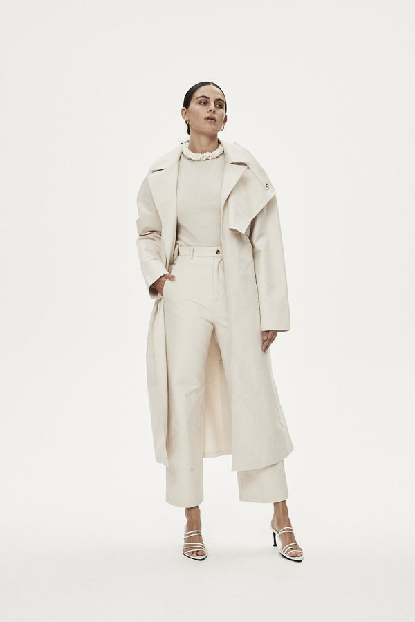 FRANCA TRENCH - ALMOND