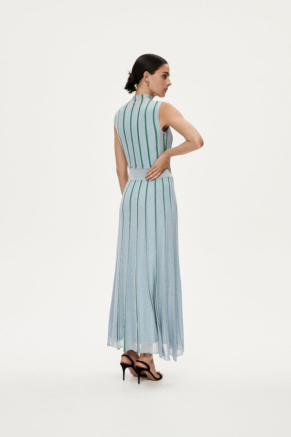 JULIAN DRESS - BLUE