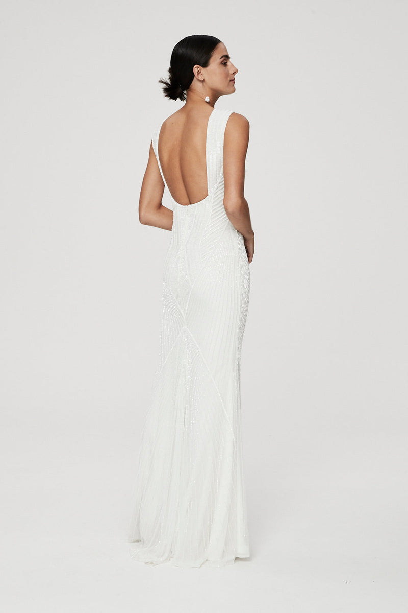 LONDON GOWN - IVORY