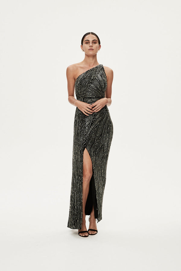 LUCA GOWN - BLACK