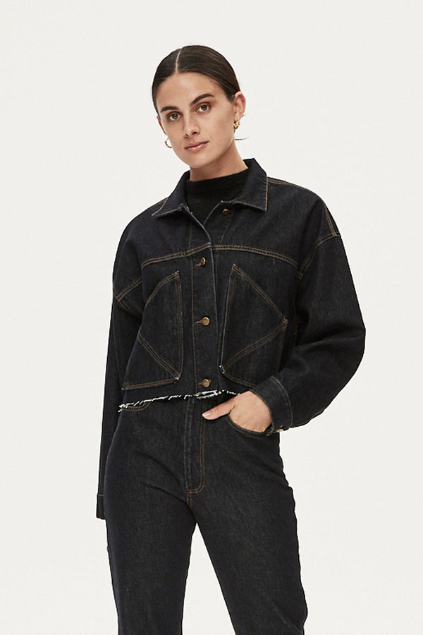 LUCAS JACKET - DARK DENIM