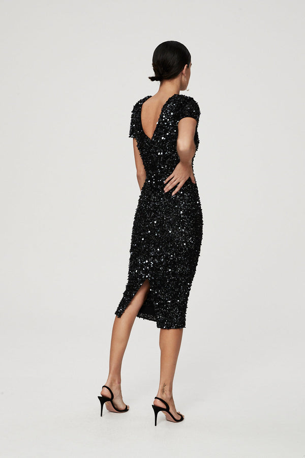 NIXIE DRESS - BLACK-DRESS-Rachel Gilbert ?id=16247639310371
