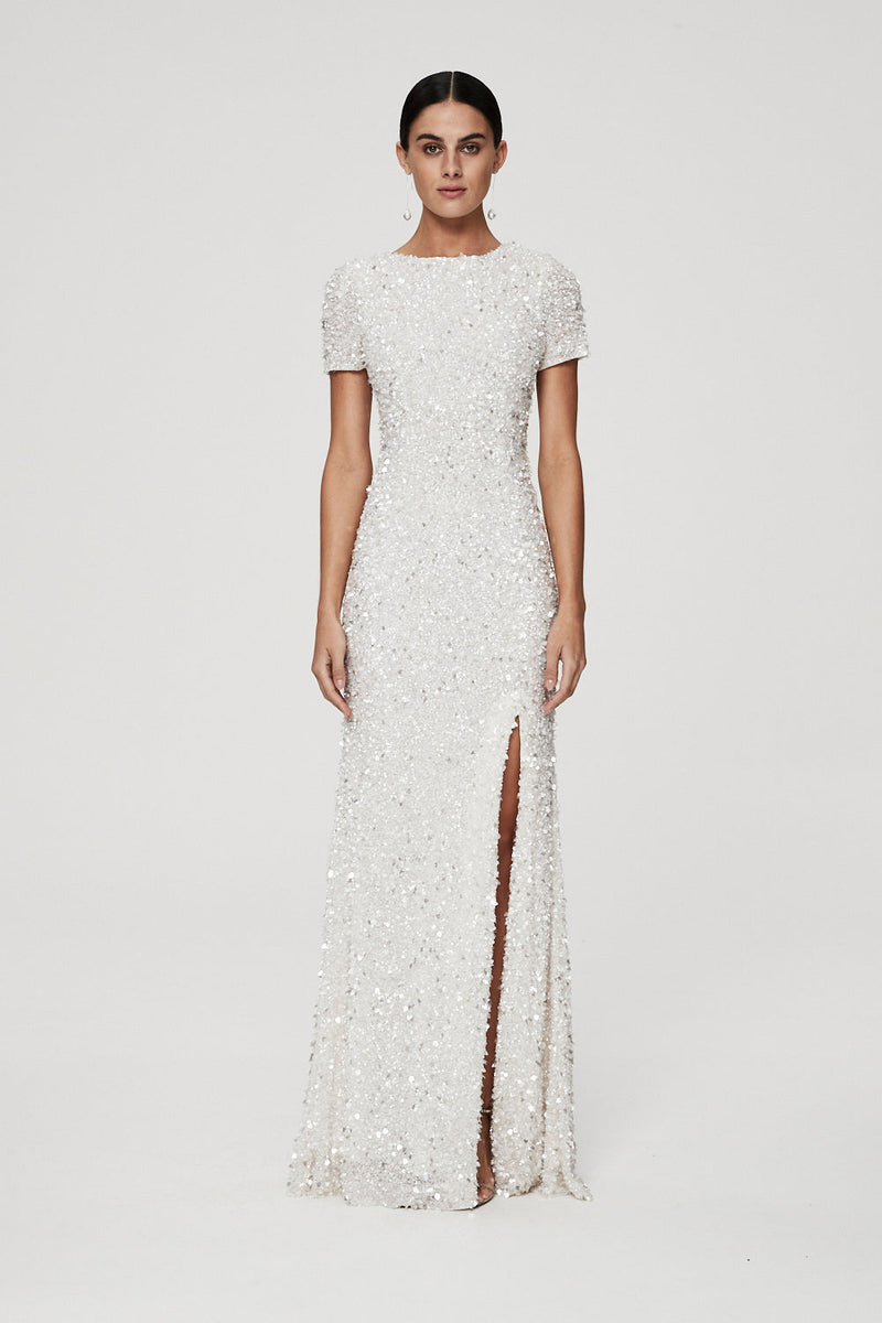 NIXIE GOWN - IVORY