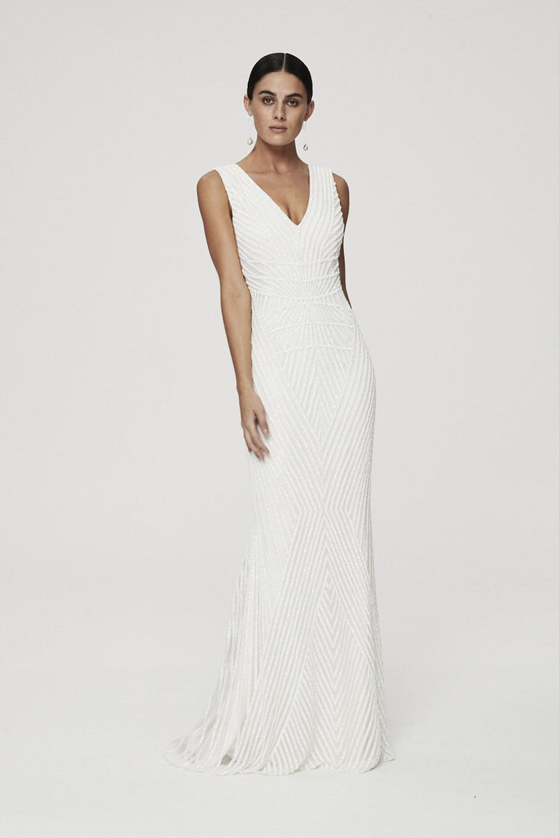 RAQUEL GOWN - IVORY