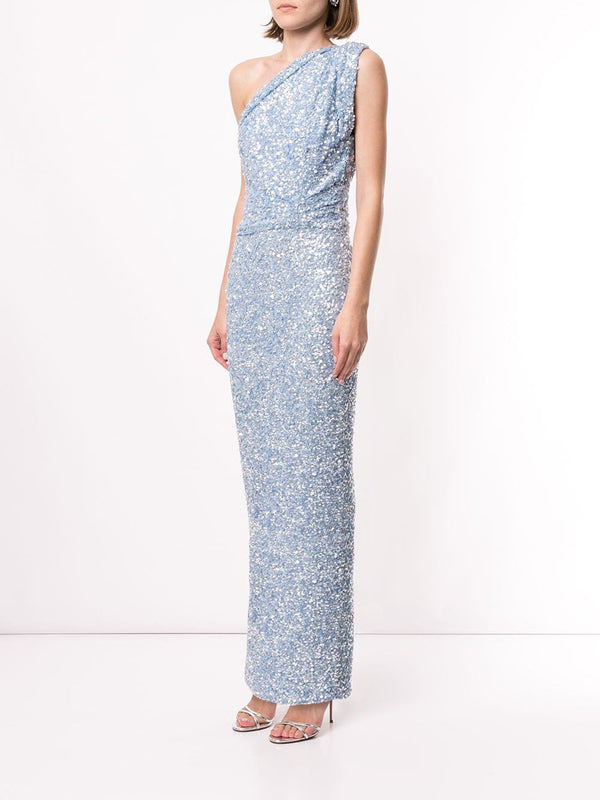 REED GOWN - BLUE