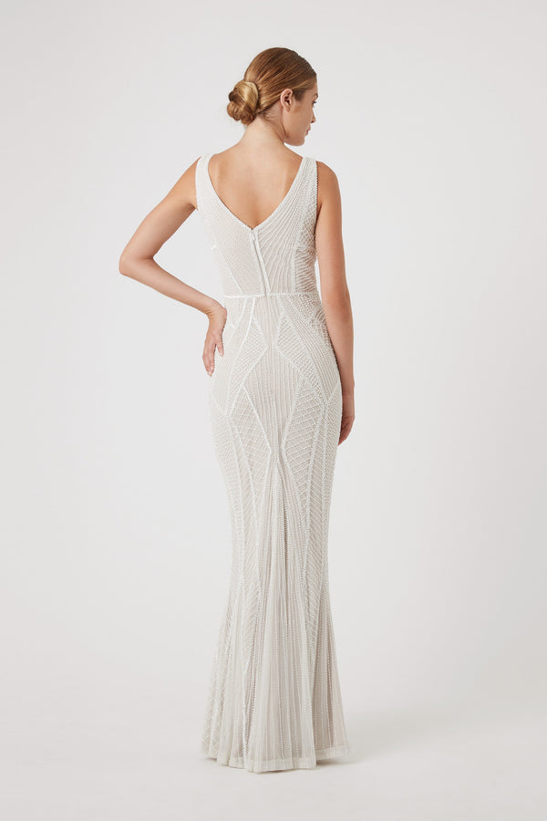 KYLAH GOWN - IVORY