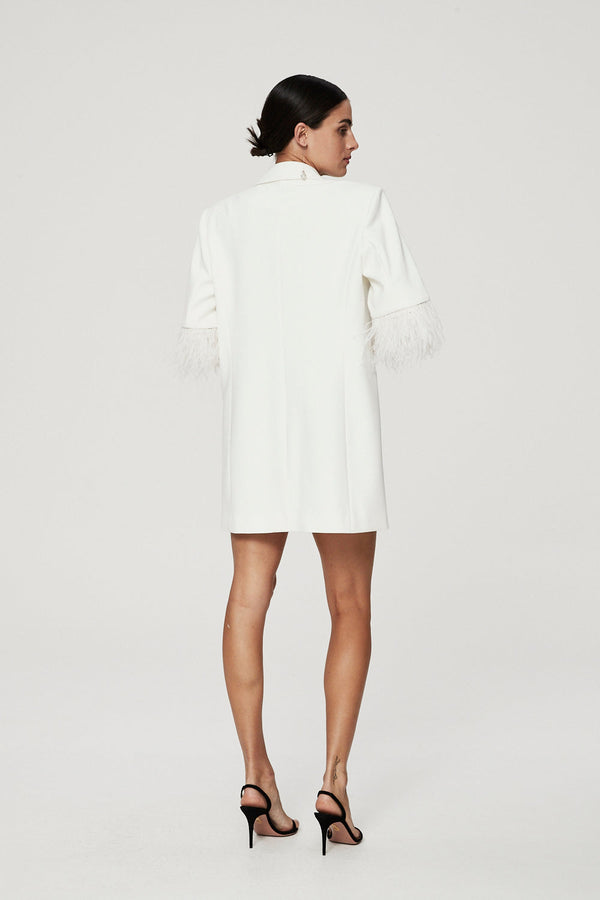 SCOUT DRESS - IVORY