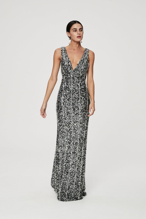 YOLI GOWN - BLACK