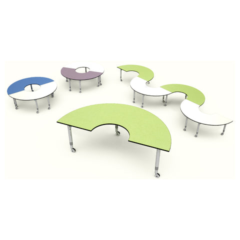 Podz Kinetic Height Adjustable Arc Table