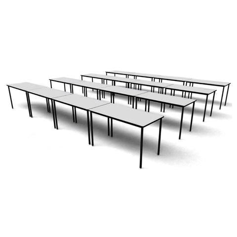 The Classmate Double Student Table by Keen Education Furniture