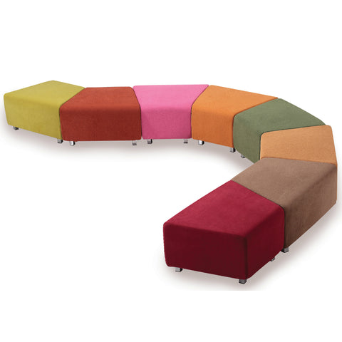The Clip Ottoman by Keen Education Furniture