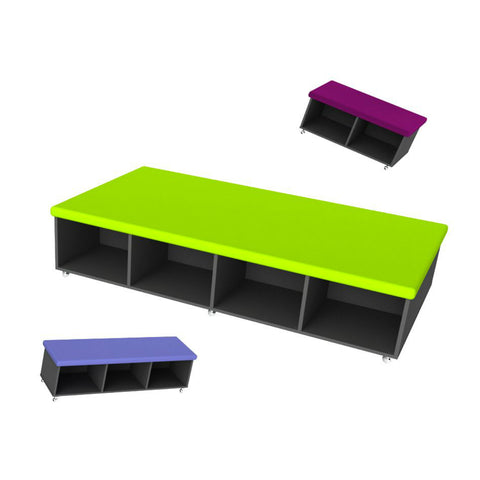 Cubo Mobile Seating and Storage by Keen Education Furniture