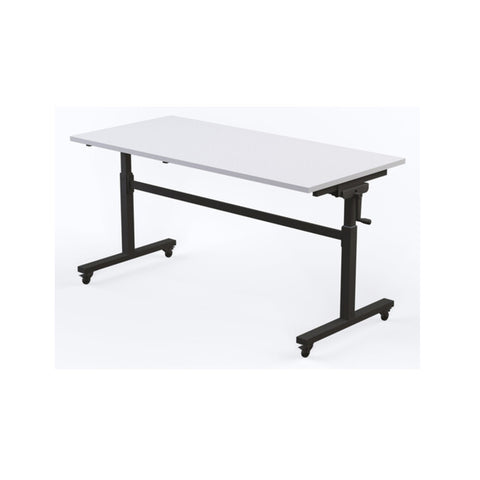 Axis Height Adjustable Flip Table