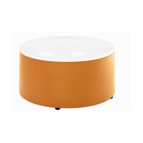 Orbit Ottoman with writable table