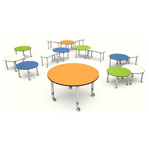 Podz Kinetic Height Adjustable Round Table (In Stock)