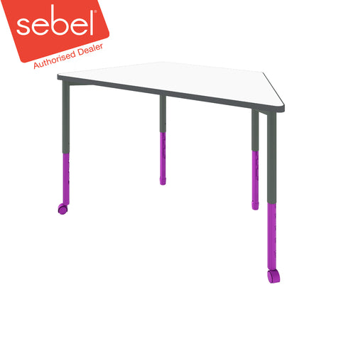 Sebel Twist'n'Lock Trapezoid Table