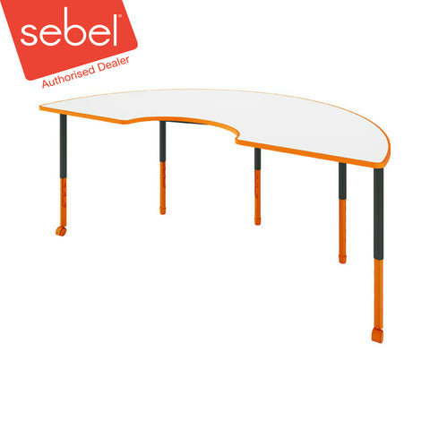 Sebel Twist'n'Lock Arc Table