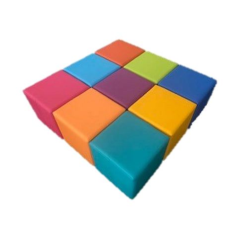 The Cubee Ottoman by Keen Education - Interactive Seating Option