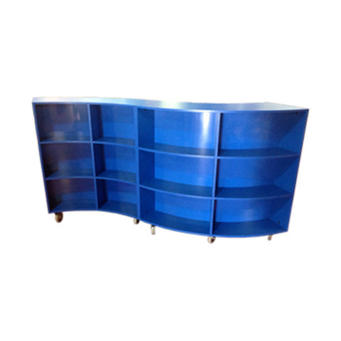 Mobile Curved Shelving