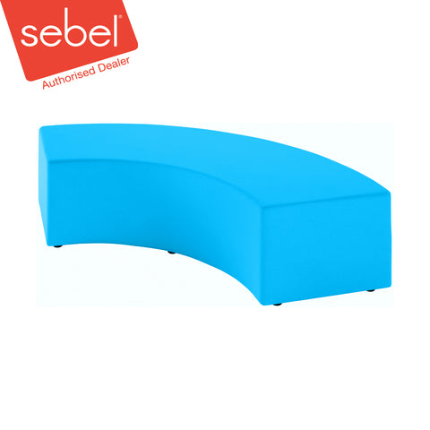 The Curves Ottoman by Keen Education