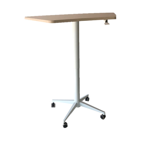 The Keen Air Height Adjustable Pillar Table by Keen Education