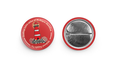 Michigan Shorelines Button