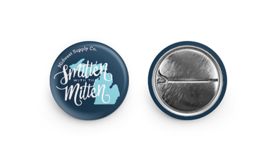 Smitten with the Mitten Button