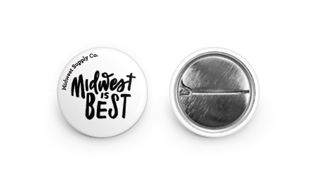 Midwest is Best Button